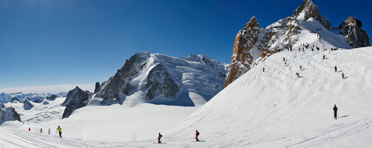 Mont Blanc - Ski resorts near Geneva