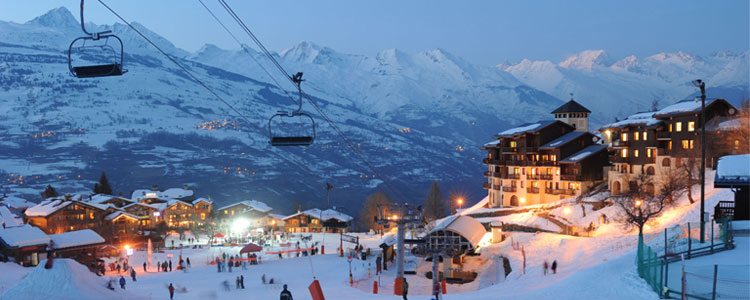 Paradiski - Ski resorts near Geneva