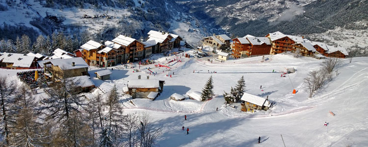 Tarentaise - Ski resorts near Geneva